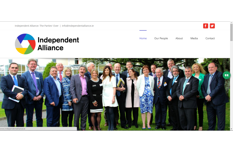 independent-alliance-created by smiling spiders web design and devlopment