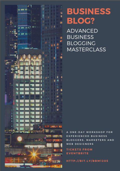 Advanced Business Blogging Masterclass